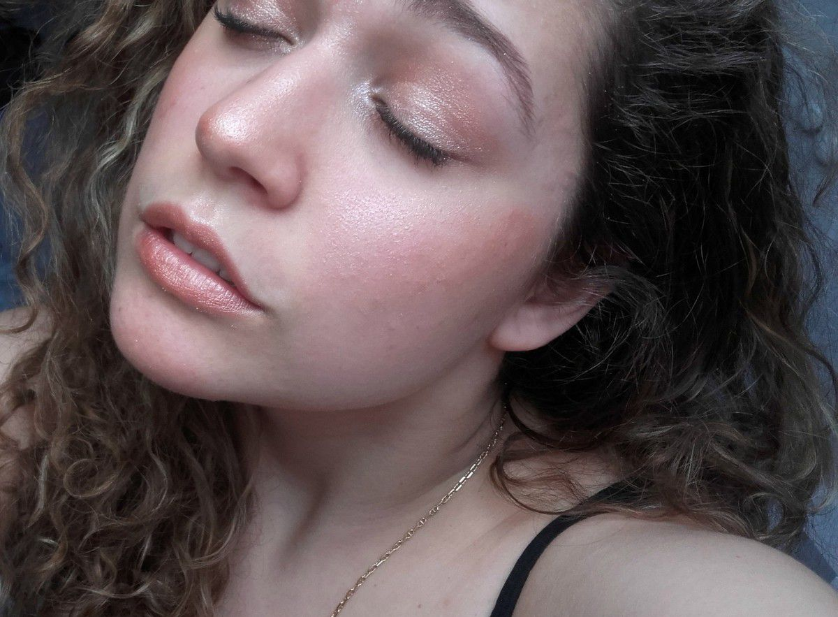 Monday Shadow Challenge | Rose gold