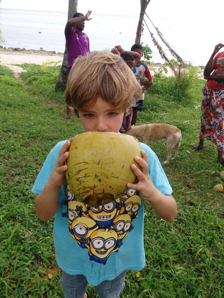 Un village fidjien