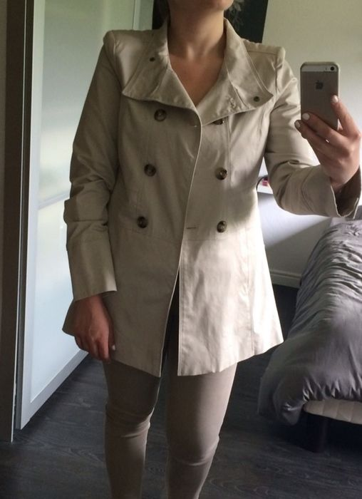 Beige Trench Trench Camaïeu over Camaïeu Sofiyedress Beige Trench over Sofiyedress Beige UAxSxn