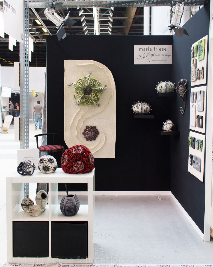 Stand Maria Friese - felt design Maison & Objet / Paris Sept 2014