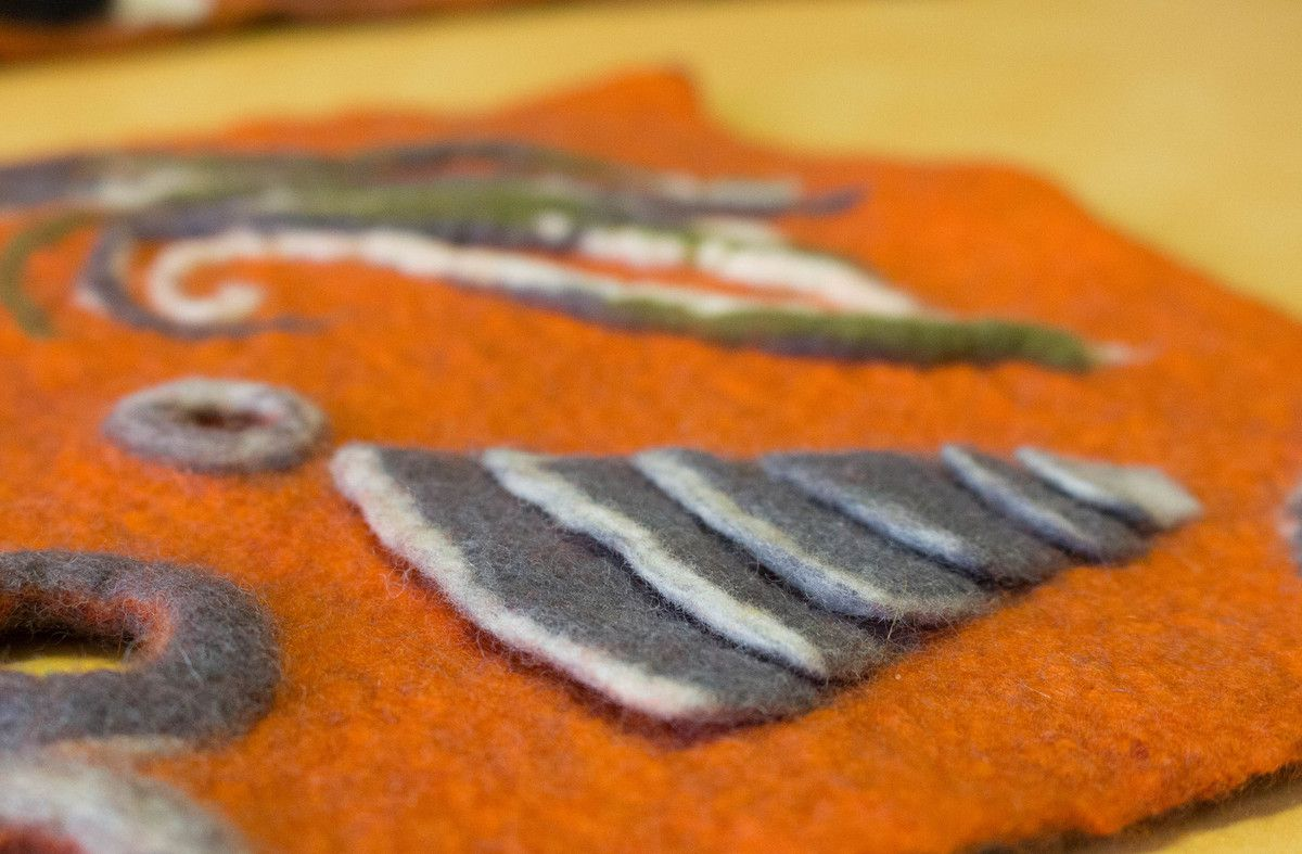 Workshop Surface en relief Felletin 2016