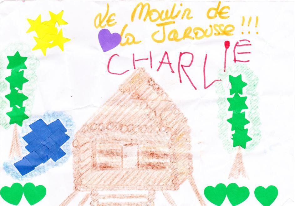 Dessin de Charlie, gagante du concours 2014