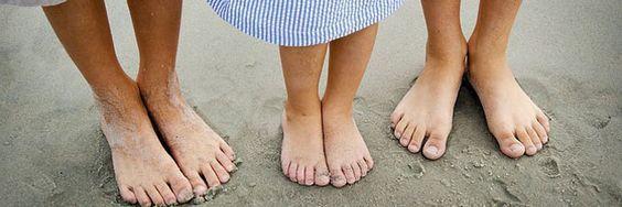 Bon pour le corps et l'esprit, le sentier pieds nus