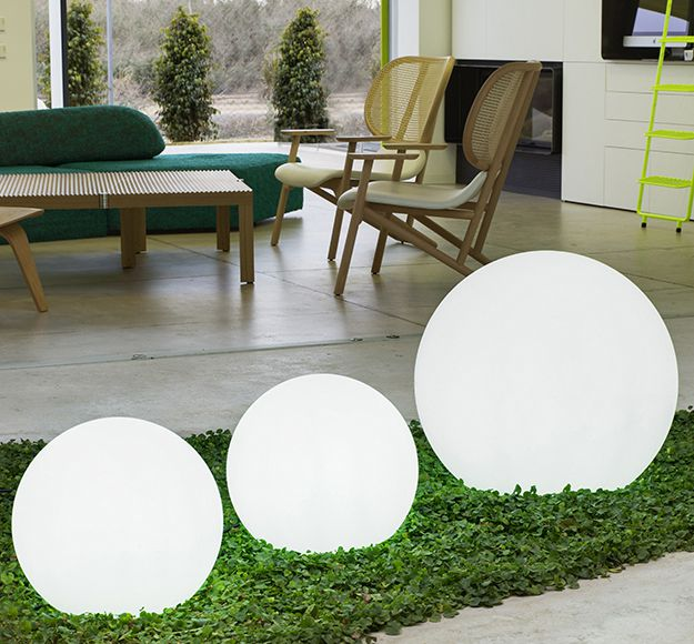 L mparas de exterior for Luces decorativas jardin