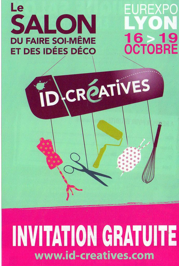 Salon id cr atives de lyon faitenchiffon - Salon id creatives ...