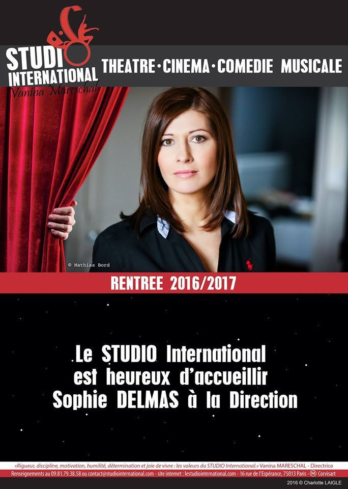 Sophie Delmas à la Direction !
