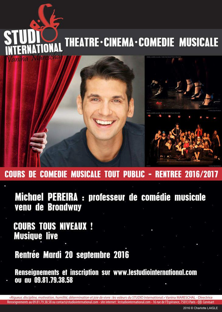 Cours de Musical theater !