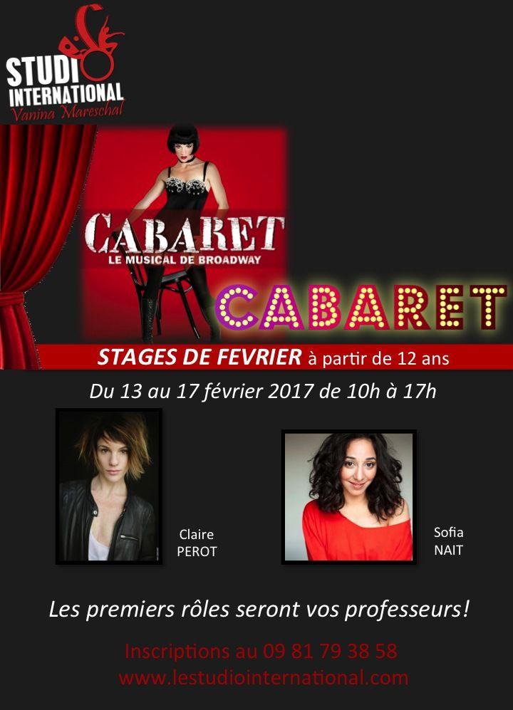 Stage CABARET