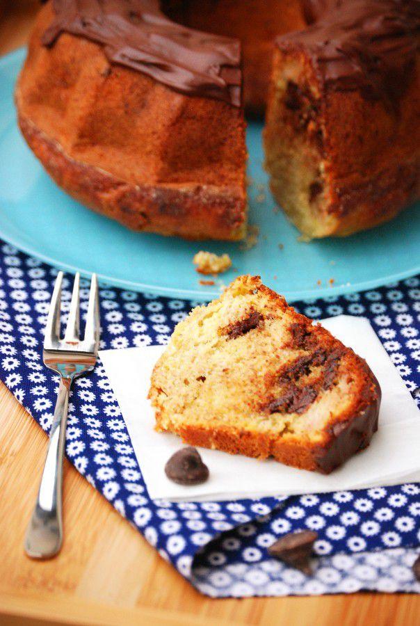 Banana Bread (Cake à la banane) aux pépites de chocolat