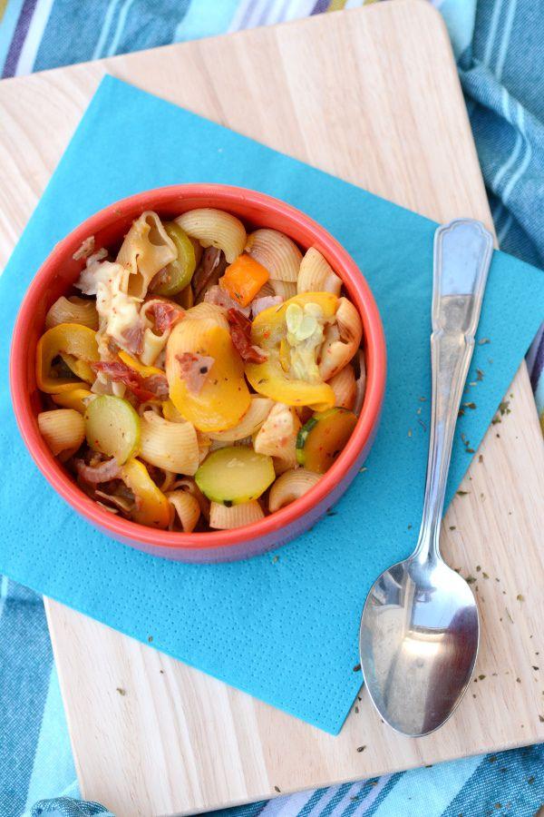 One-Pot de pâtes aux légumes