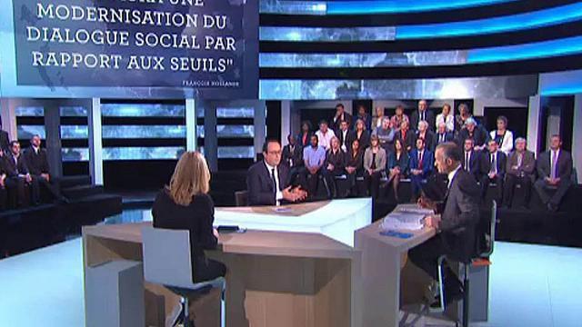 Face à Hollande, une patronne de combat aux méthodes ancestrales