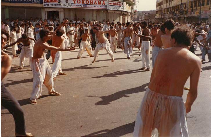 Flagellations de Muharram