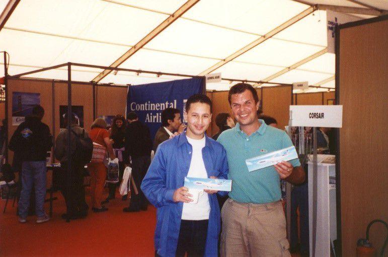 2000 septembre Retour aux Etats-Unis