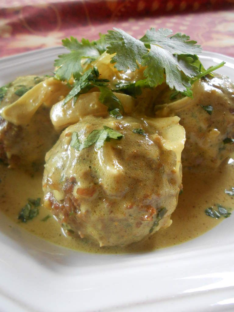 Boulettes de boeuf au curry