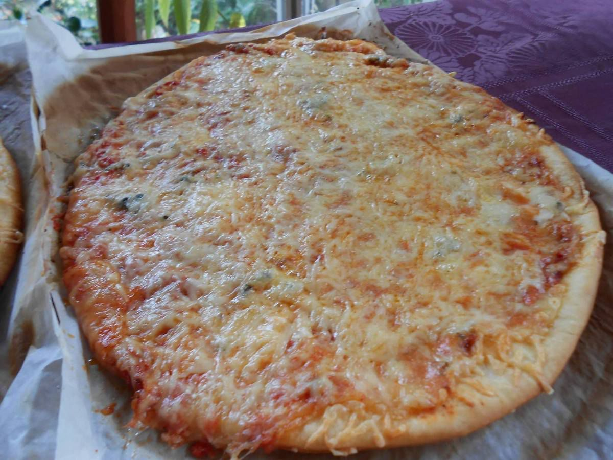 Semaine Pizza (2): la 3 fromages