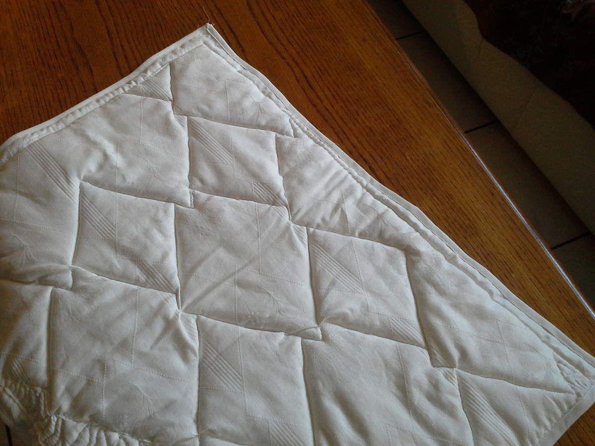 enveloppe couverture avec couverture matelassé rembourrage coton bio   dimensions 66/49