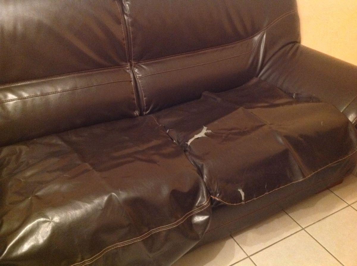 canapé avant et après