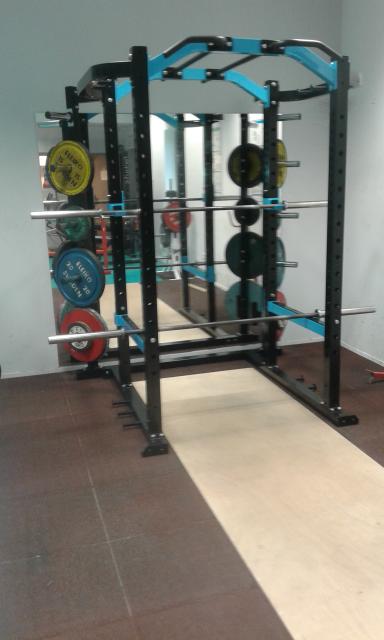 Nouvelle cage à squat