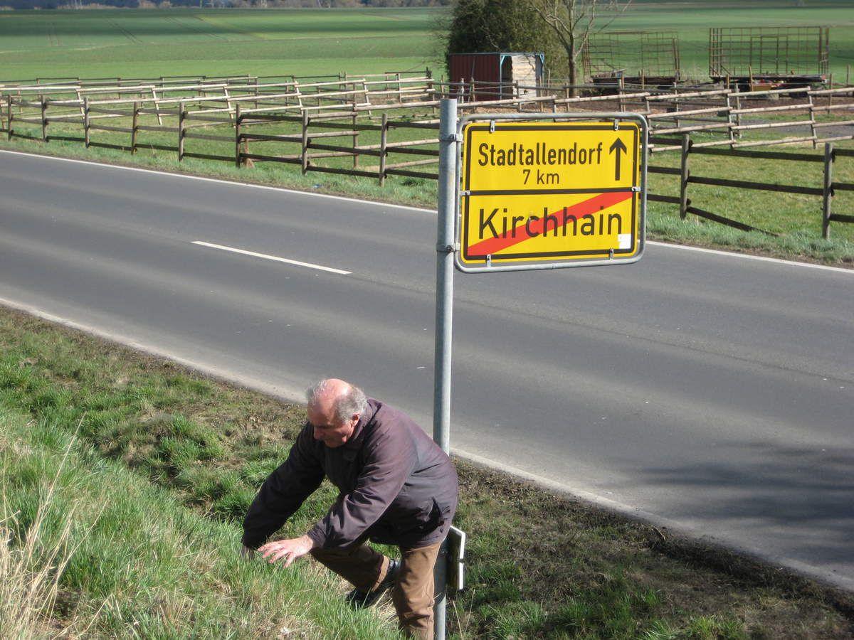 Théo a participé à la construction de la route reliant Stadtallendorf à Kirchhain
