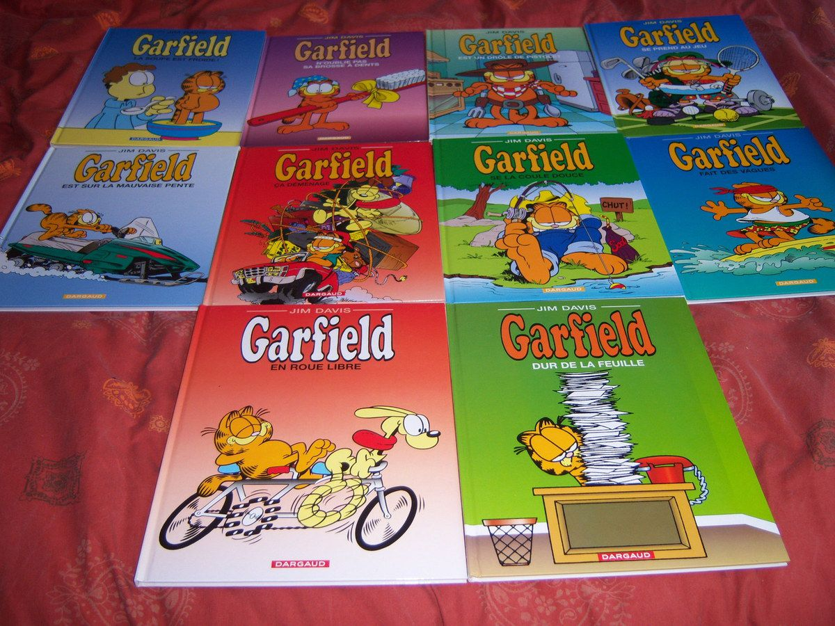 Garfield tomes 21 à 30.