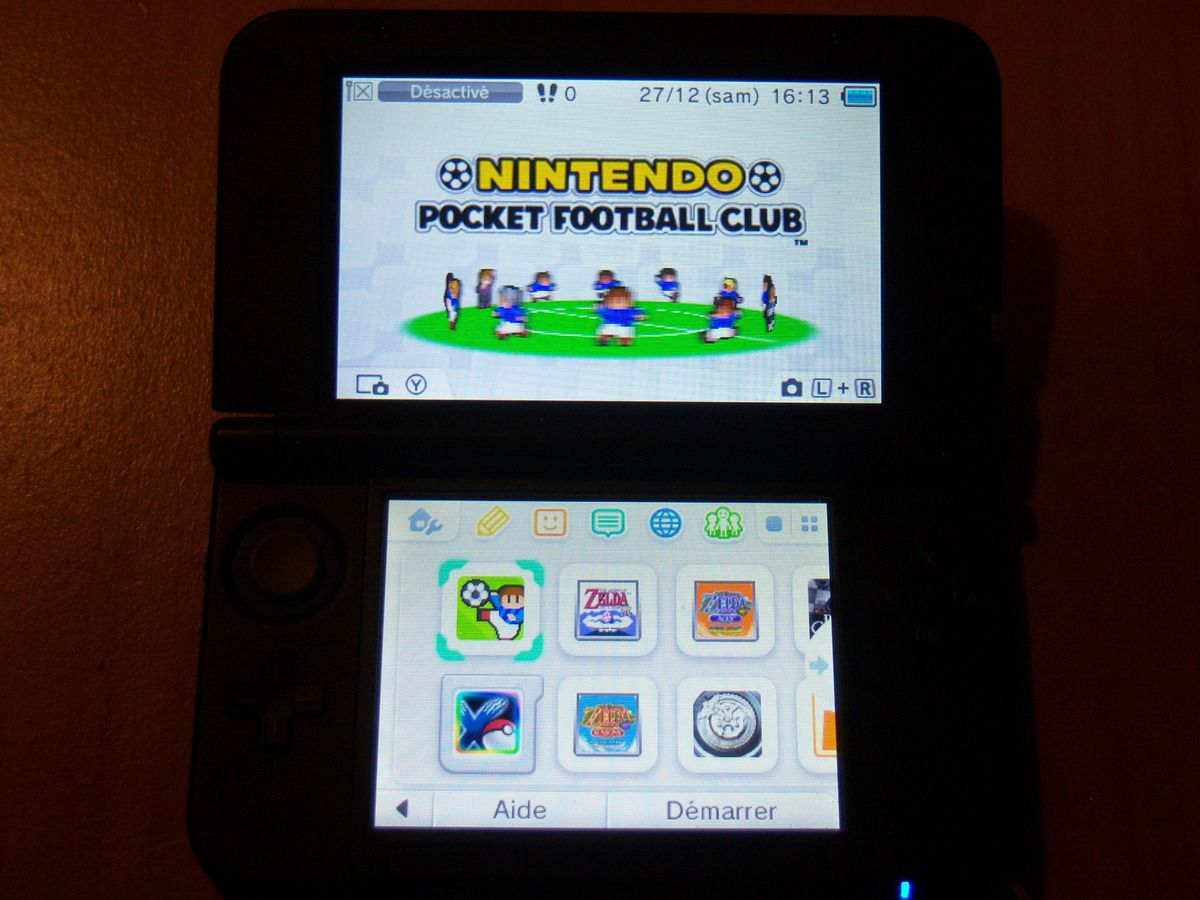 Nintendo Pocket Football Club 3DS.