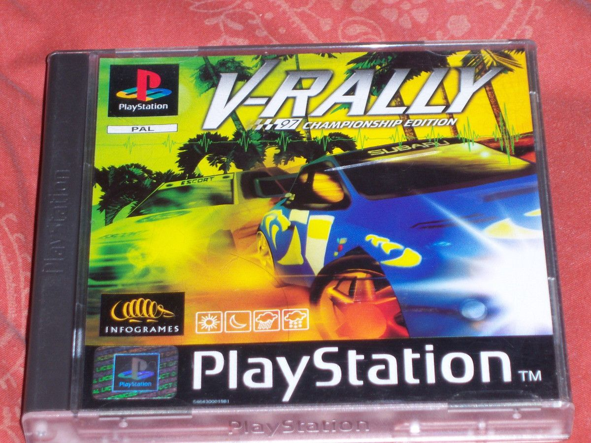 V-Rally '97 Championship edition sur PlayStation.