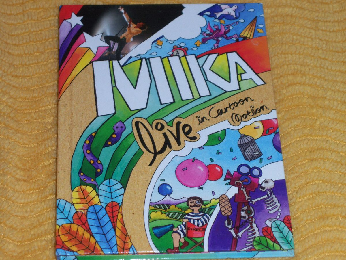 Live in cartoon motion DVD live de Mika.