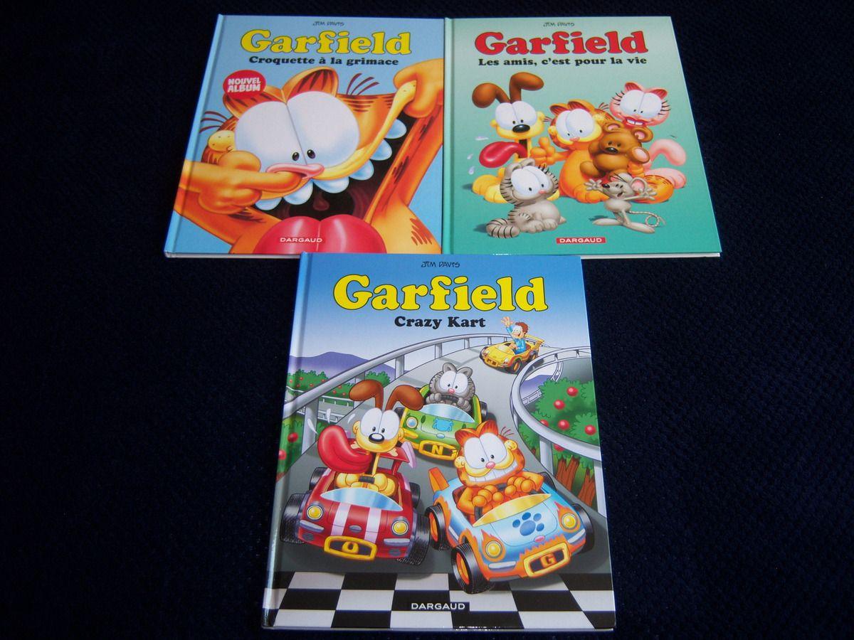 Tomes 55 à 57 de Garfield.