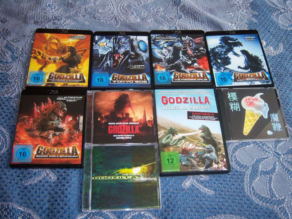Beaucoup de Godzilla, ah, du Blur aussi, comme quoi.