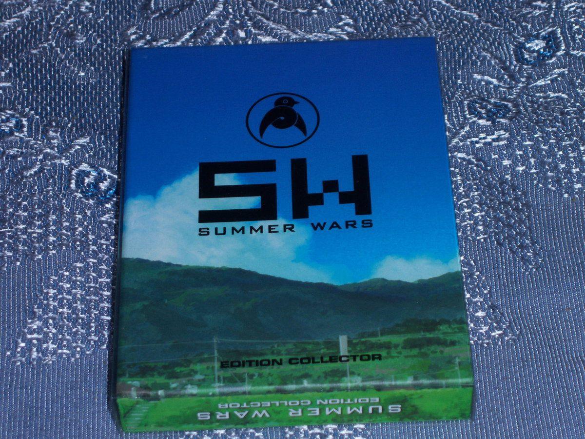 Summer Wars BluRay DVD collector.