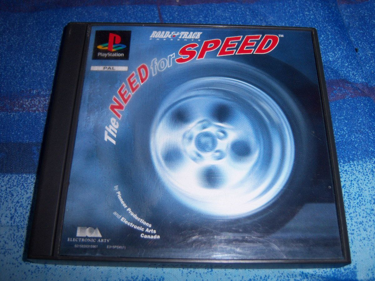 The need for speed sur PlayStation.