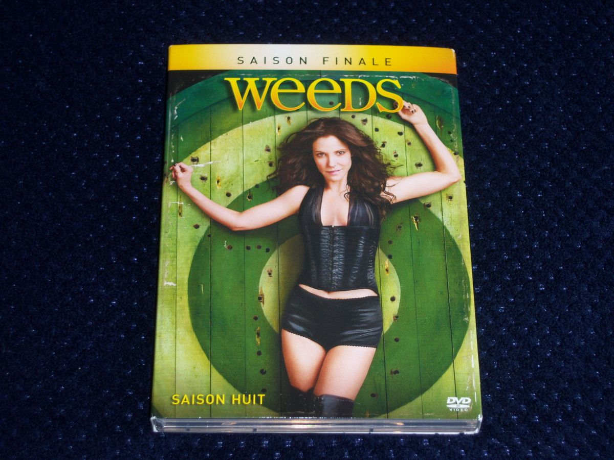 Weeds saison 8 en DVD.