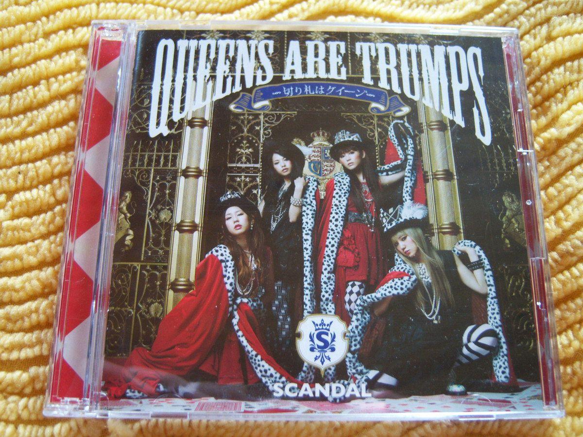 Queens are trumps de SCANDAL, version DVD.