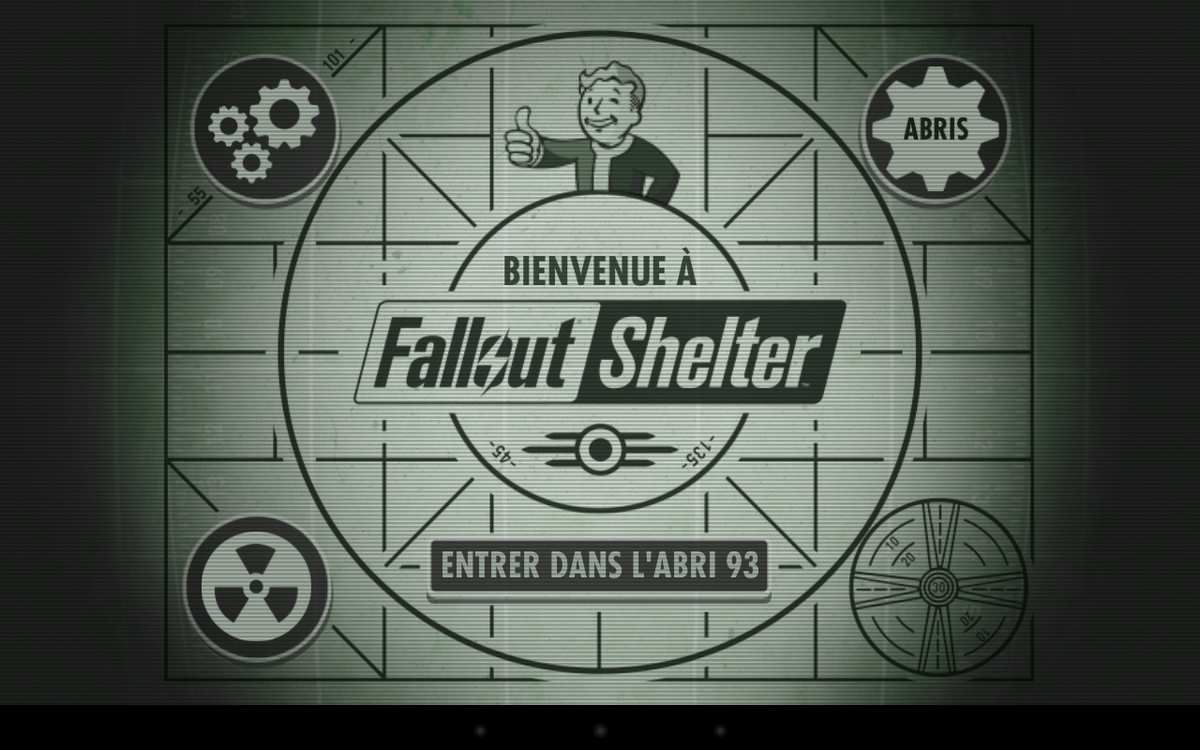FallOut Shelter sur Android.