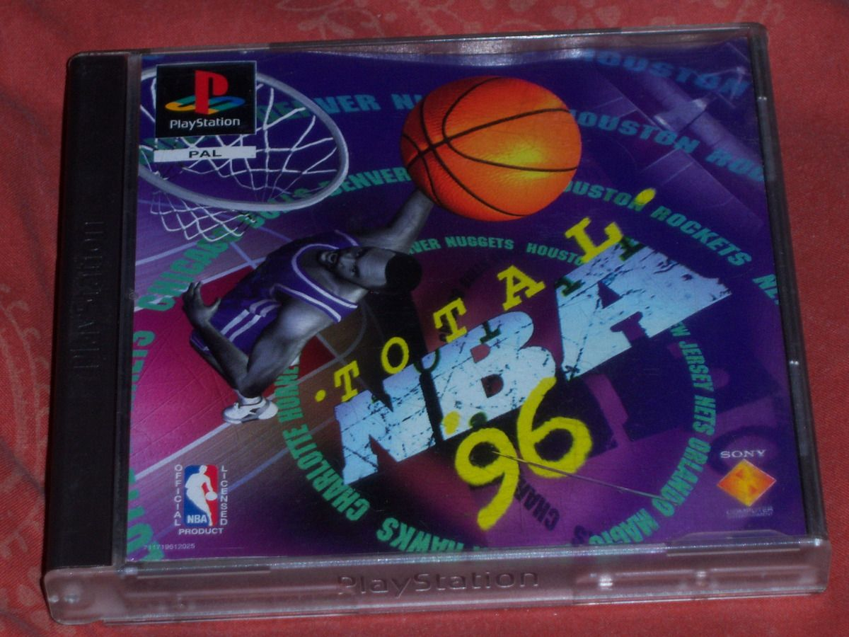 Total NBA '96 sur PlayStation.