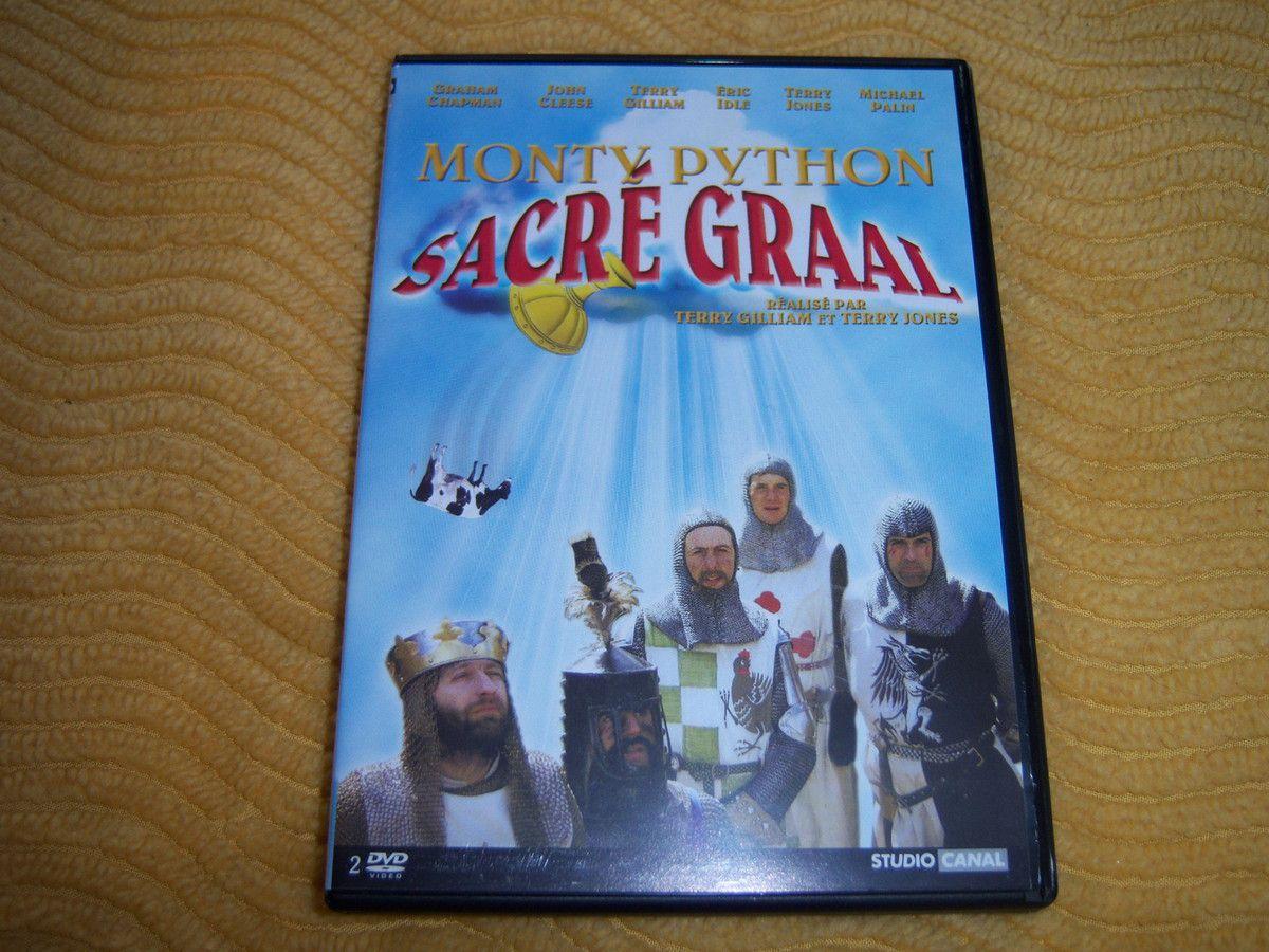 Sacré Graal en DVD.