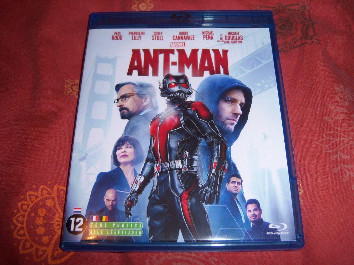 Ant-Man en BluRay.