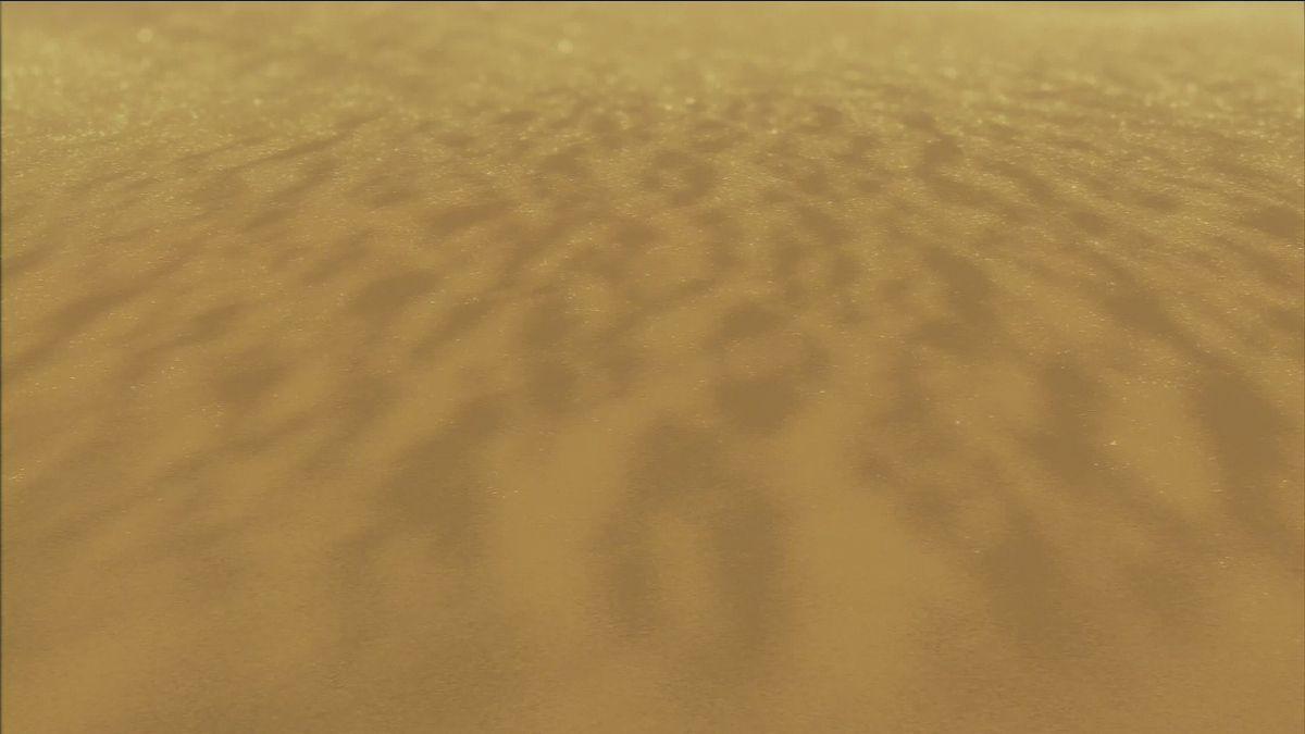 Étendue désertique marquant le début de votre voyage.