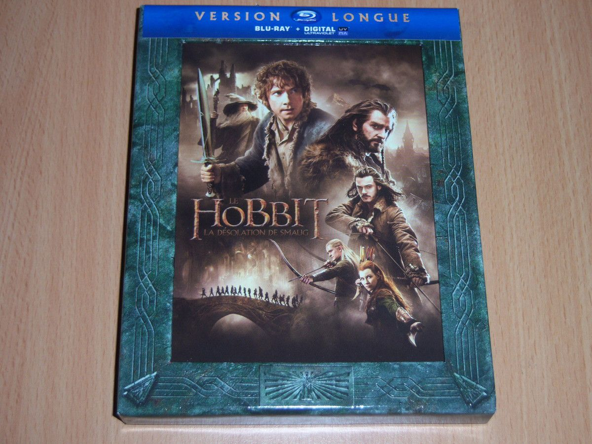 Le BluRay de la version longue.