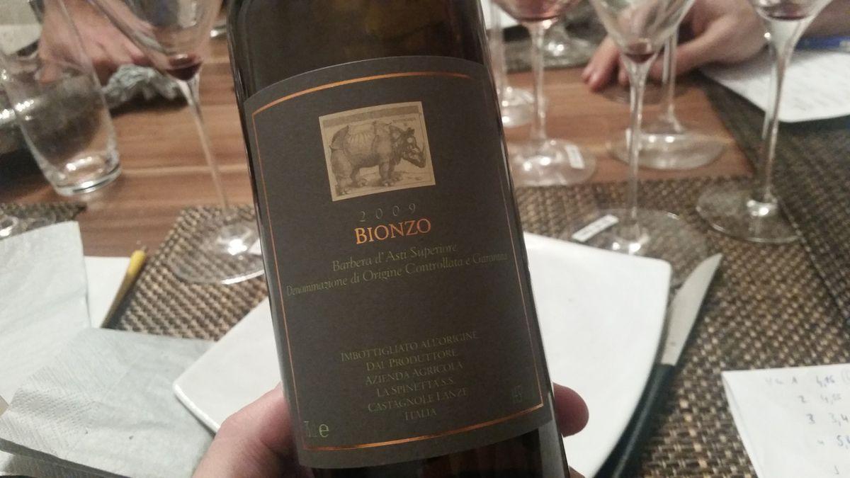 Barbera d'Asti Superiore Bionzo 2009 - La Spinetta
