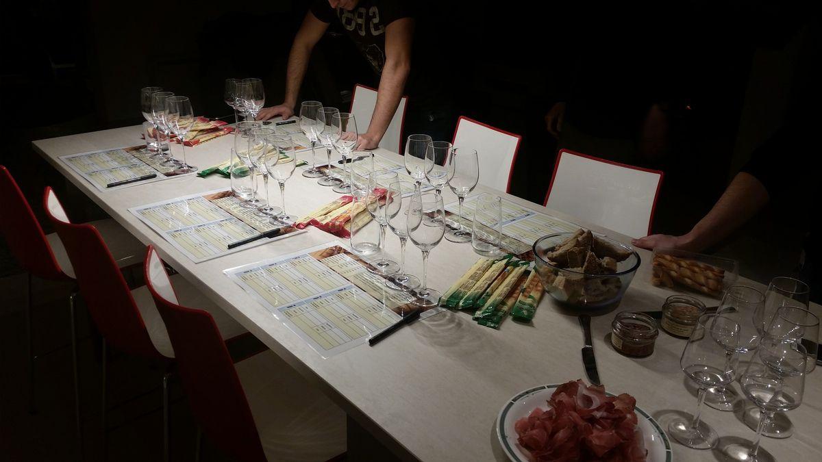 La superbe table d'hôtes