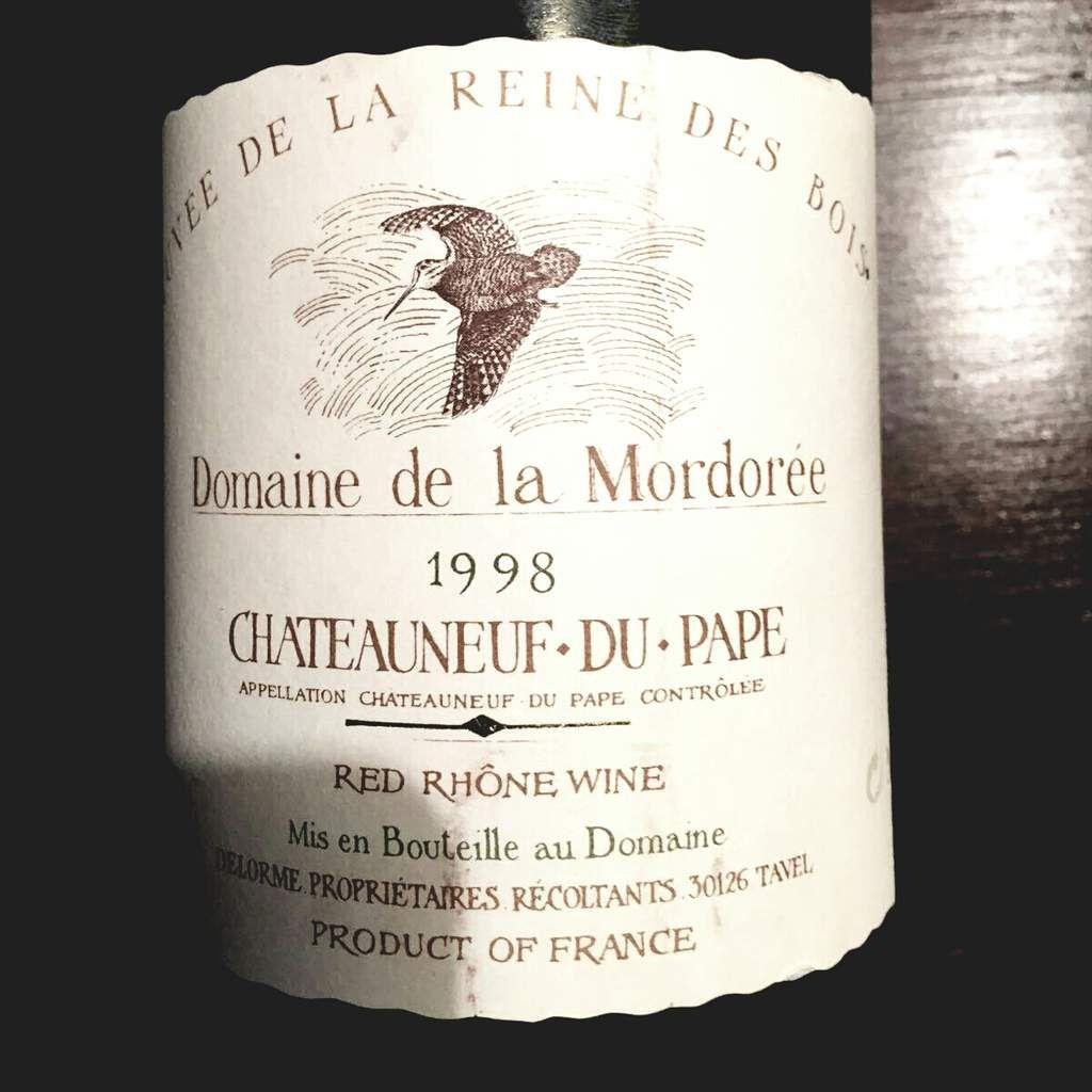 Domaine de la Mordorée Cuvée Reine des Bois 1998 - Châteauneuf-du-Pape