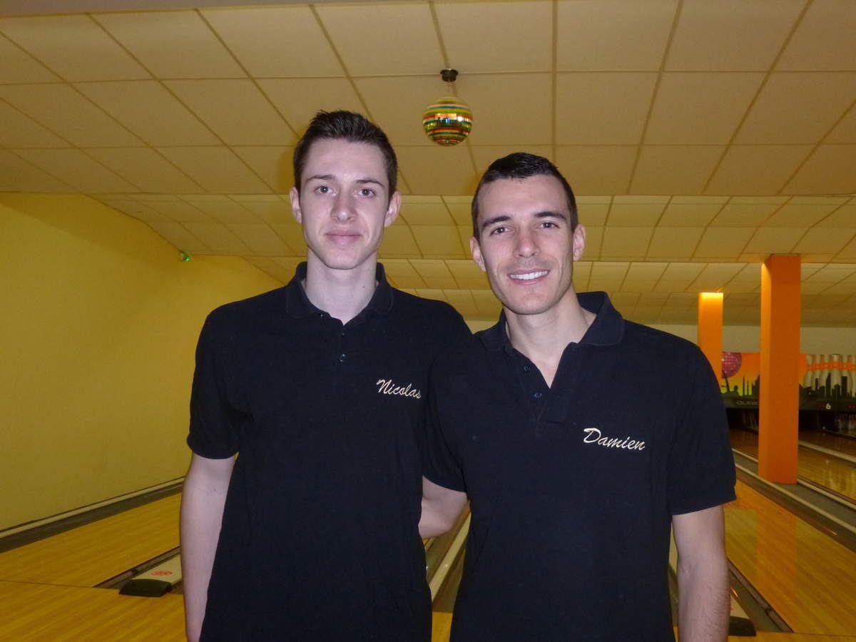 Nicolas et Damien