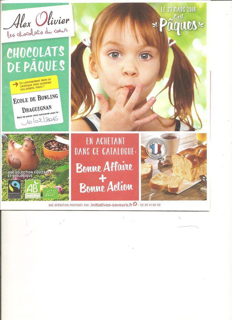 Vente de Chocolat pour Pâques