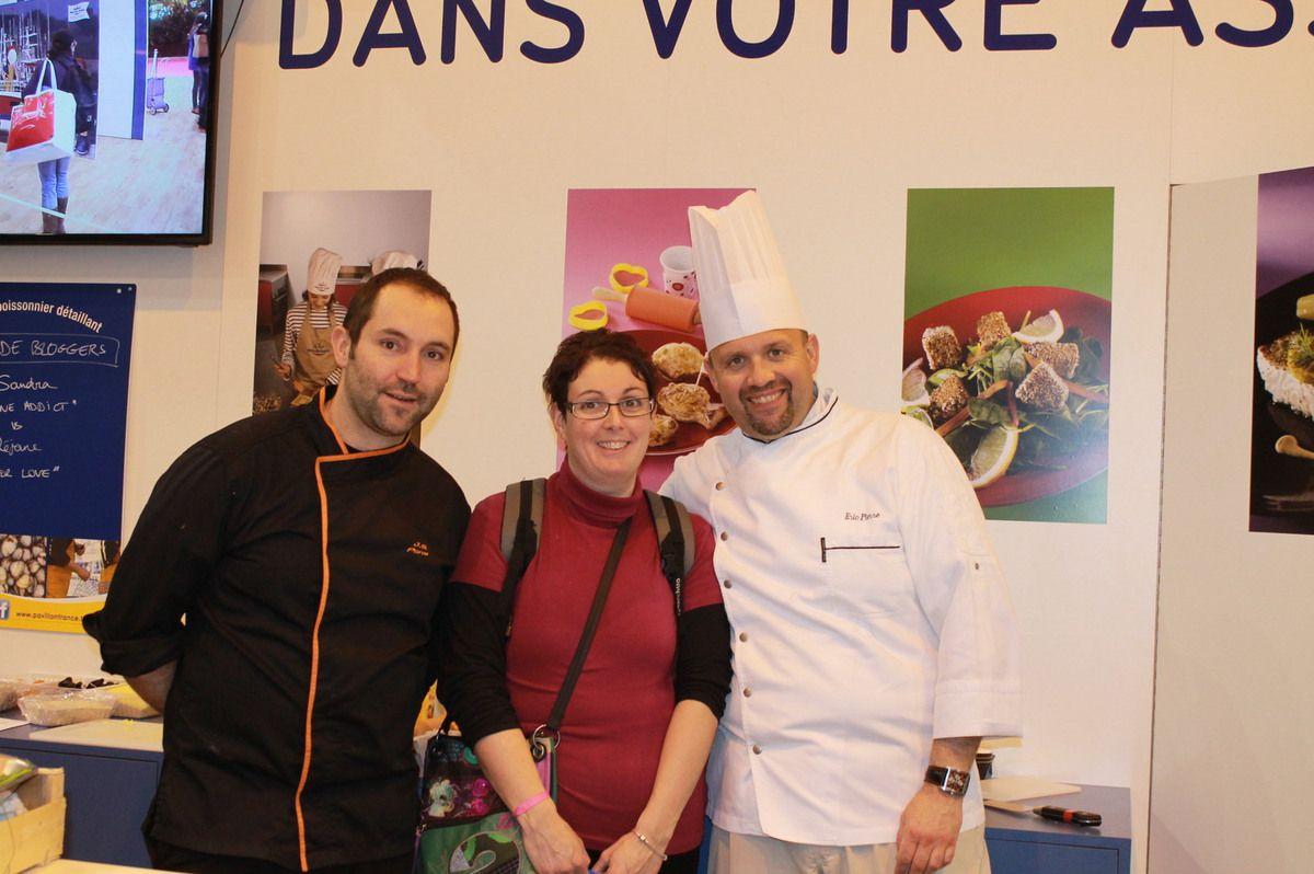 Second d'Une Battle culinaire sur le Stand Pavillon France au salon de l'agriculture de Paris 22/02/15
