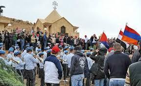 Syrie: la fuite des Arméniens...