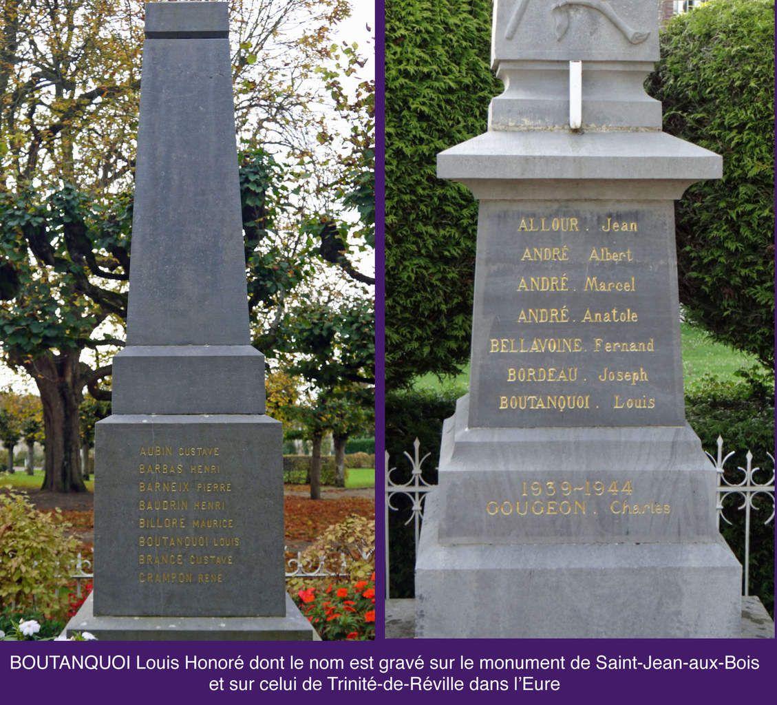 Inscriptions sur les monuments aux morts