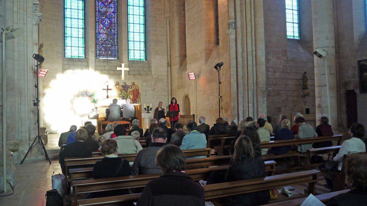 Concert en l'abbatiale