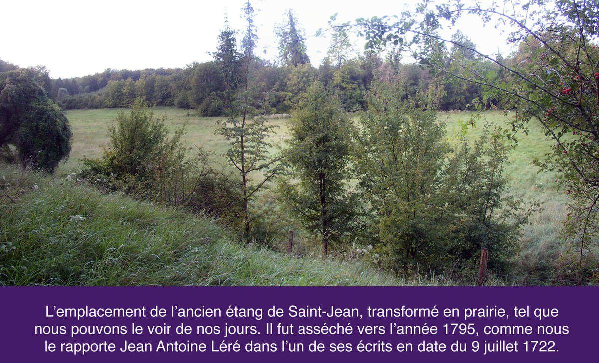 Baux de l'étang de Saint-Jean