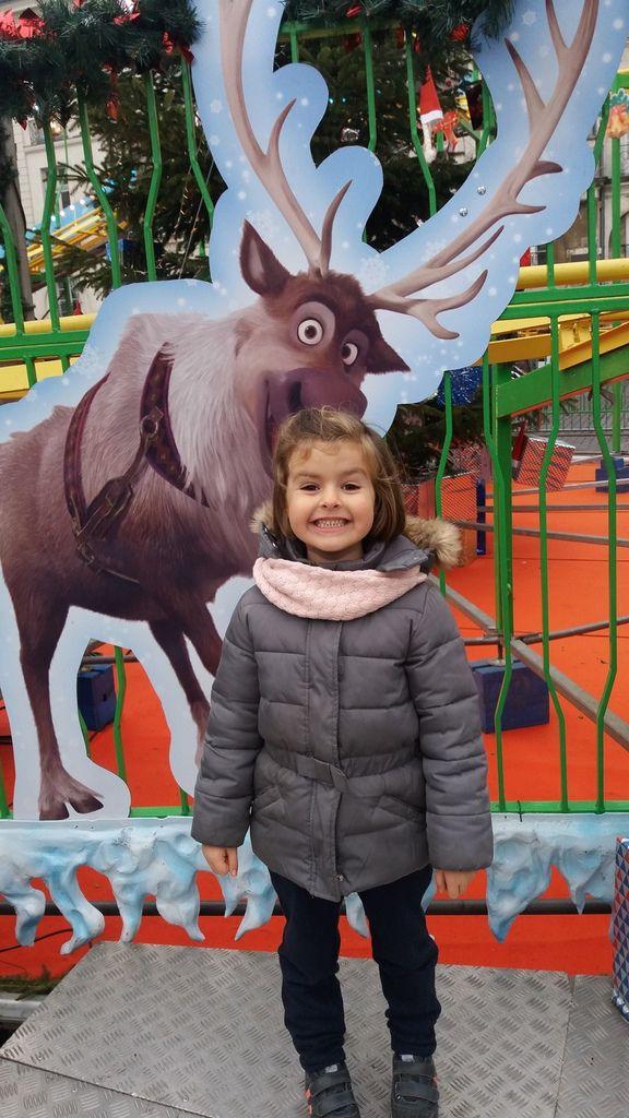 manège de Noël place Bouffay